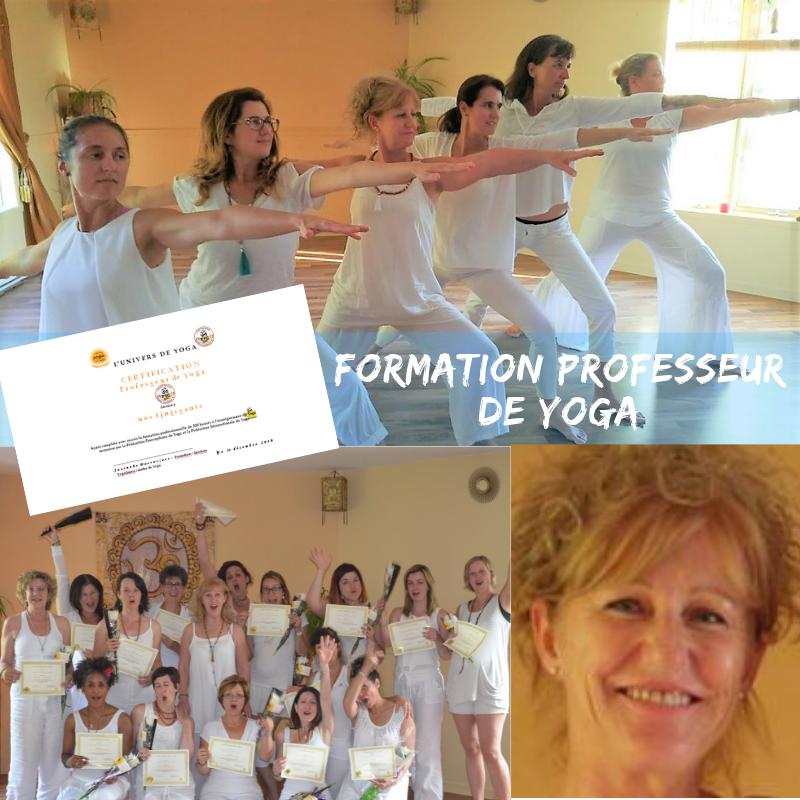 Pub. formation professeur yoga